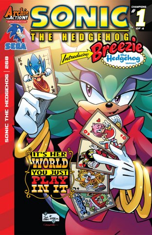 Sonic the Hedgehog 268 (March 2015) (variant edition)