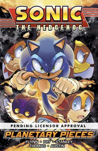 Sonic the Hedgehog Volume 6: Planetary Pieces (unreleased)