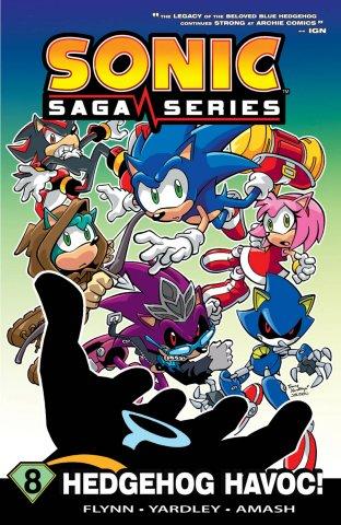 Sonic Saga Series Vol.8 Hedgehog Havok (canceled)