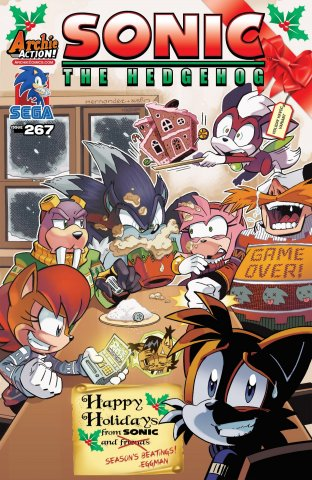 Sonic the Hedgehog 267 (February 2015) (variant edition)