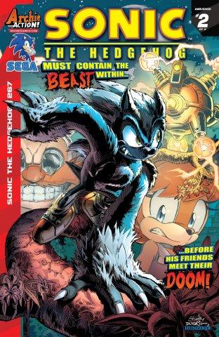 Sonic the Hedgehog 267 (February 2015)