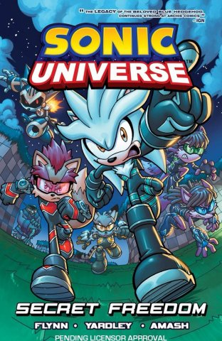 Sonic Universe Vol.11 - Secret Freedom (canceled)