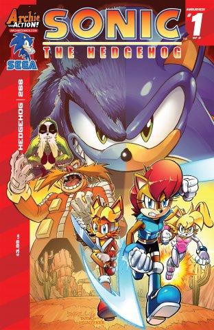 Sonic the Hedgehog 266 (January 2015)
