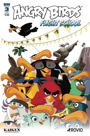 Angry Birds - Flight School