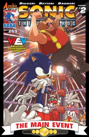 Sonic the Hedgehog 269 (April 2015) (variant edition)