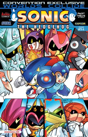 Sonic the Hedgehog 251 (September 2013) (Convention Exclusive variant)