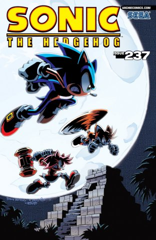Sonic the Hedgehog 237 (July 2012)