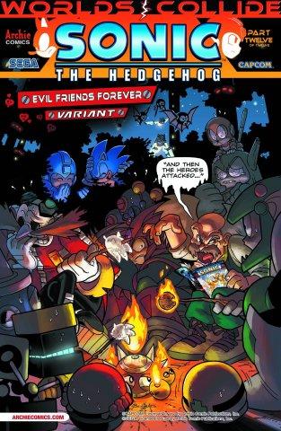 Sonic the Hedgehog 251 (September 2013) (Evil Friends Forever variant)