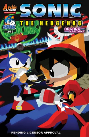 Sonic the Hedgehog 293 (variant edition) (canceled)