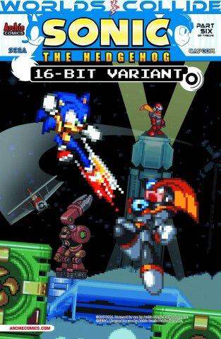 Sonic the Hedgehog 249 (July 2013) (16 bit variant)