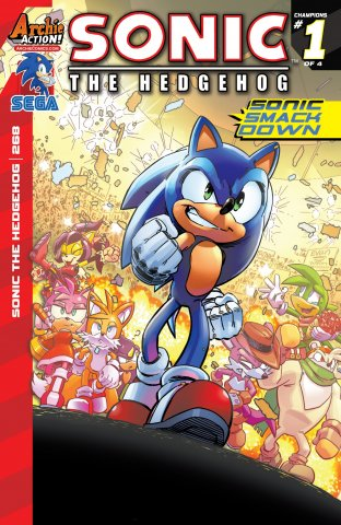 Sonic the Hedgehog 268 (March 2015)