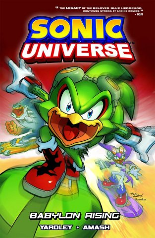 Sonic Universe Vol.09 - Babylon Rising (canceled)