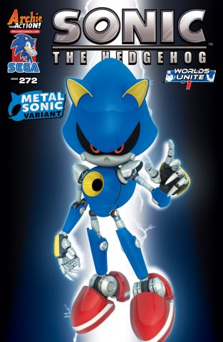 Sonic the Hedgehog 272 (July 2015) (variant edition)