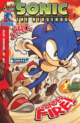 Sonic the Hedgehog 272 (July 2015)