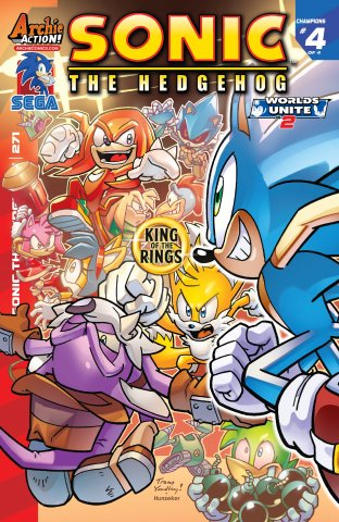Sonic the Hedgehog 271 (June 2015)