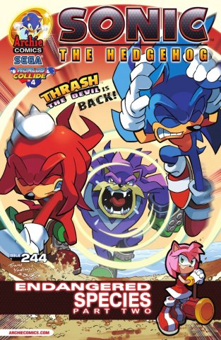 Sonic the Hedgehog 244 (February 2013)