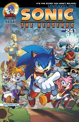 Sonic the Hedgehog 241 (November 2012)