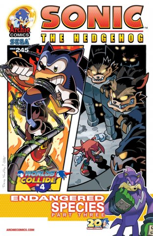 Sonic the Hedgehog 245 (March 2013)