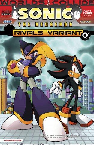 Sonic the Hedgehog 248 (June 2013) (Rivals variant)