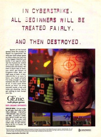 GEnie Multi-Player Games (Cyberstrike)