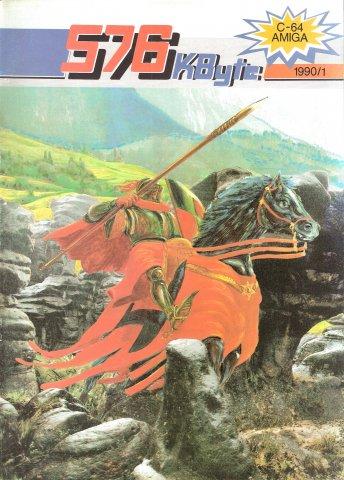 576 KByte Issue 001 (January 1990)
