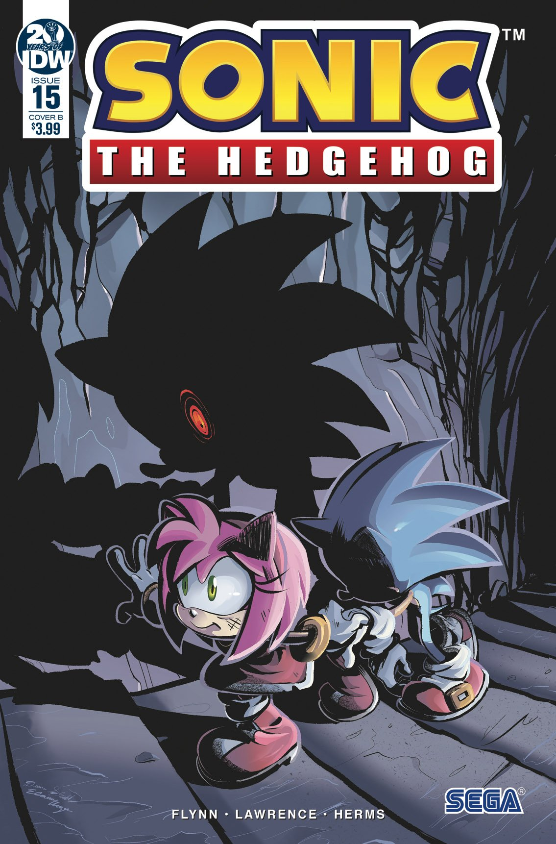 Sonic the Hedgehog 015 (March 2019) (cover b)