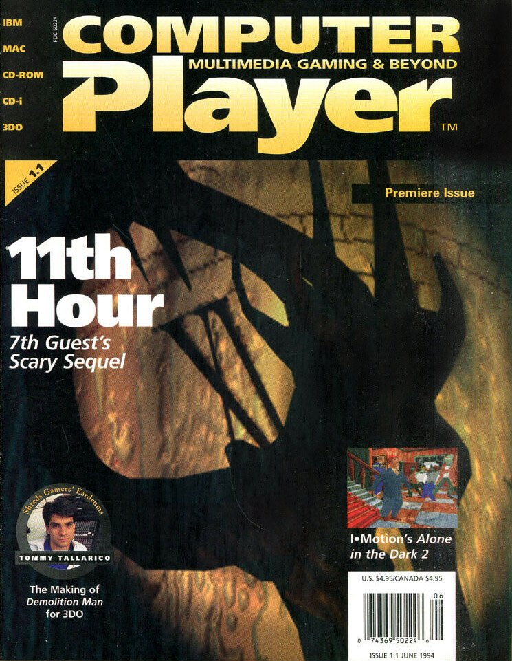 Computer Player Vol.1 Issue 01 (June 1994)