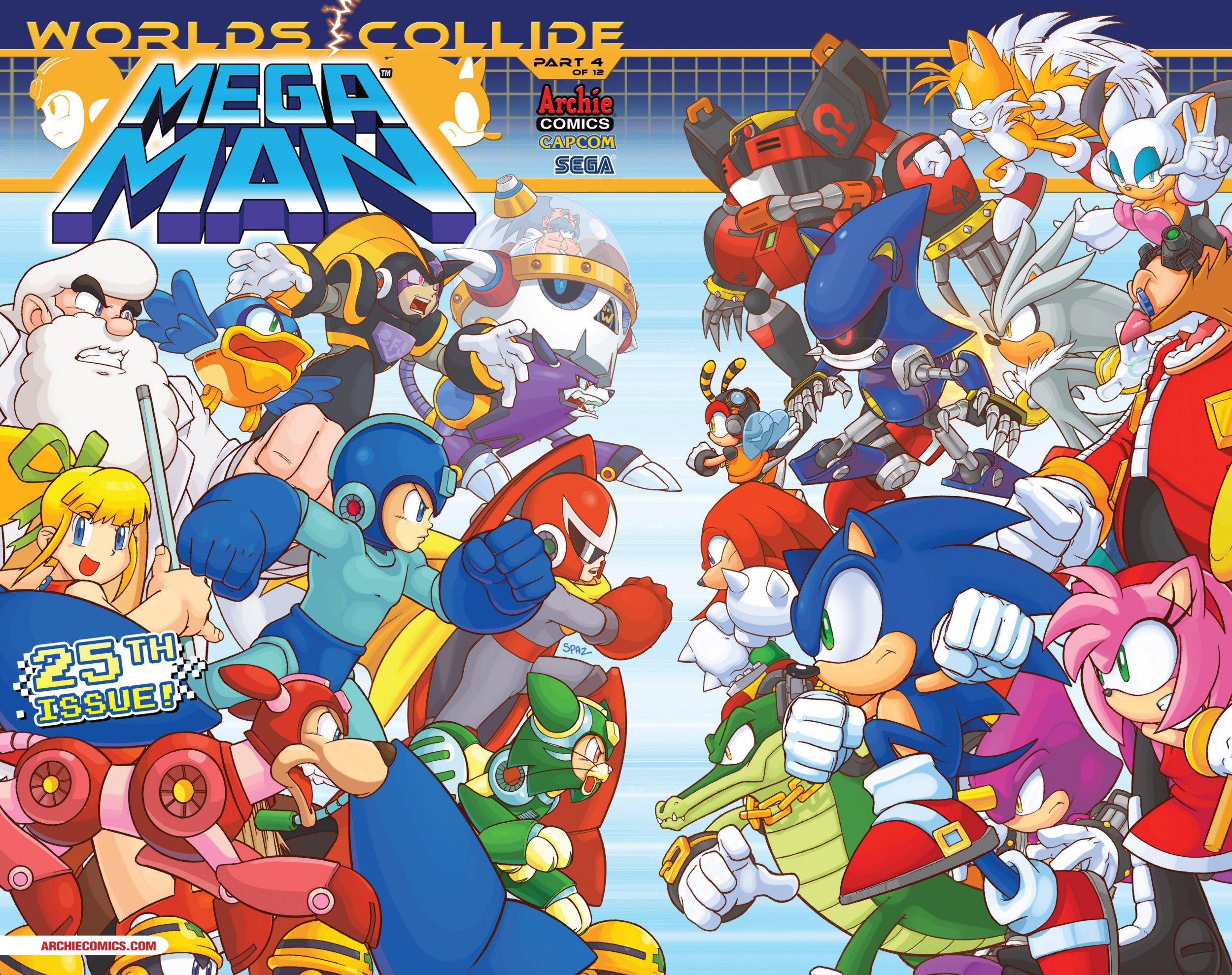 Mega Man 025 (July 2013)