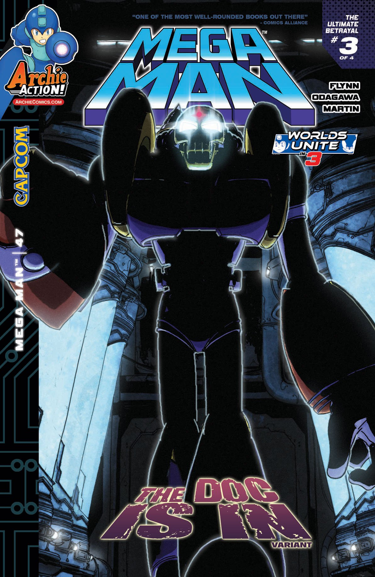 Mega Man 047 (May 2015) (variant)