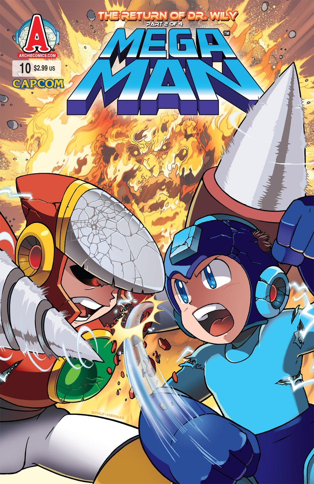 Mega Man 010 (April 2012)