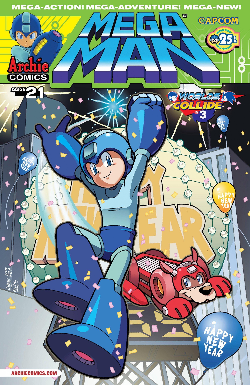 Mega Man 021 (March 2013)