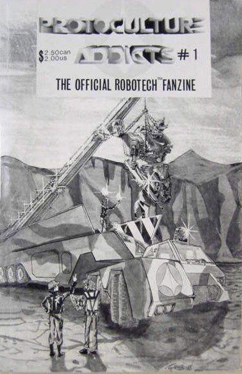 Protoculture Addicts Issue 01 (June 1988)