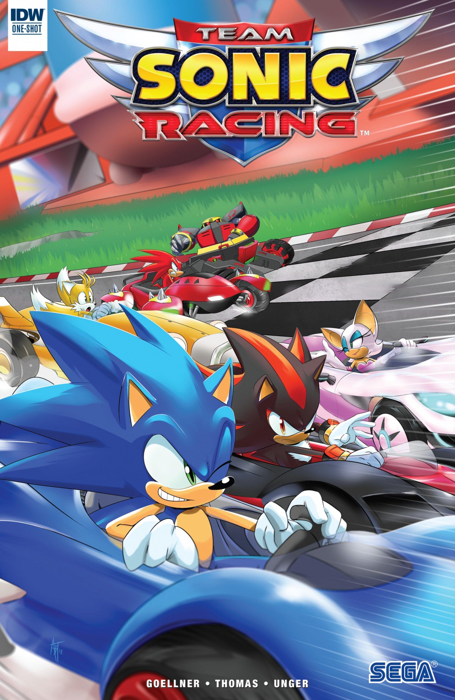 Team Sonic Racing (October 2018)