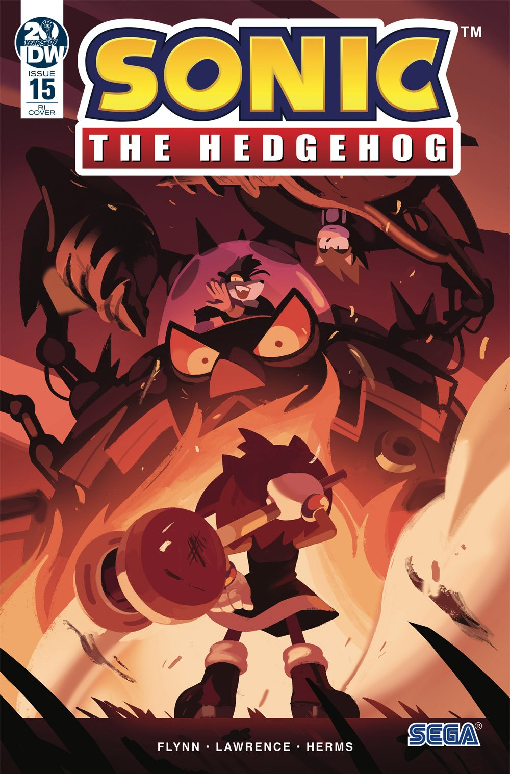 Sonic the Hedgehog 015 (March 2019) (retailer incentive)