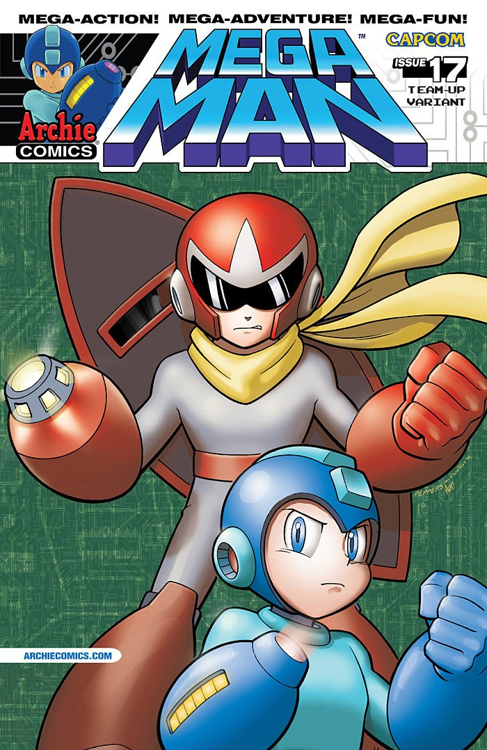 Mega Man 017 (November 2012) (variant)
