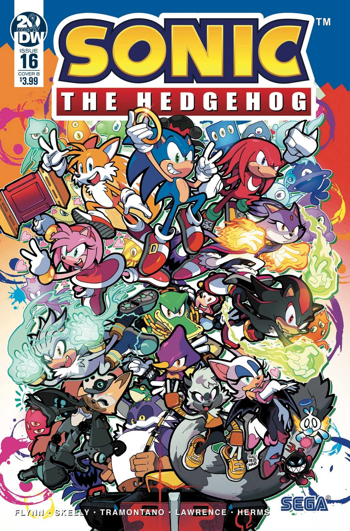 Sonic the Hedgehog 016 (April 2019) (cover b)