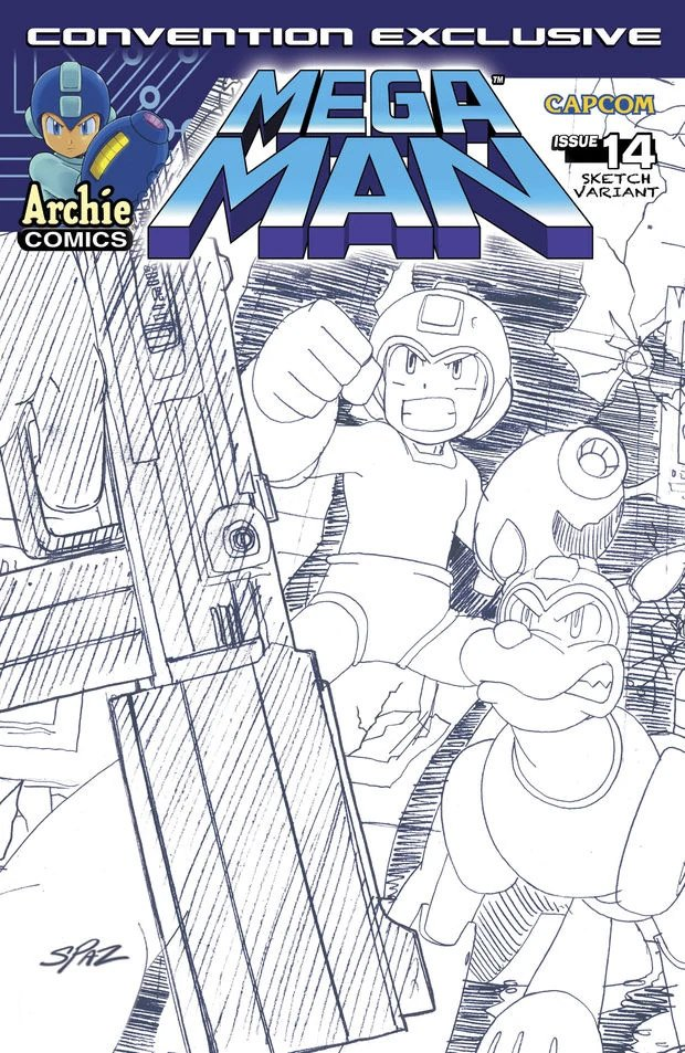 Mega Man 014 (August 2012) (variant)