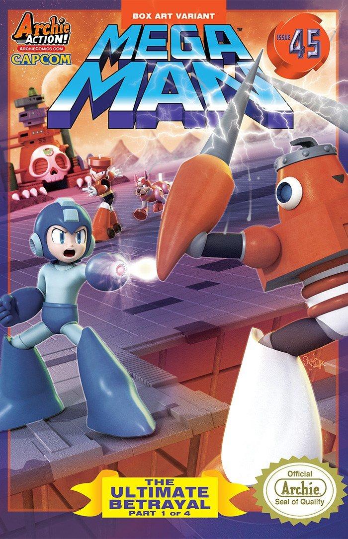 Mega Man 045 (March 2015) (variant)