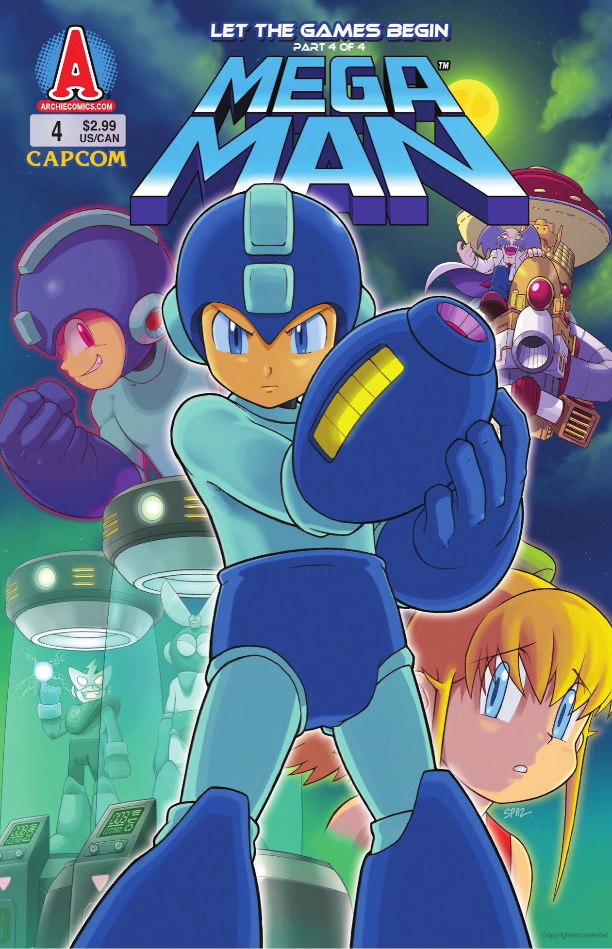 Mega Man 004 (October 2011)