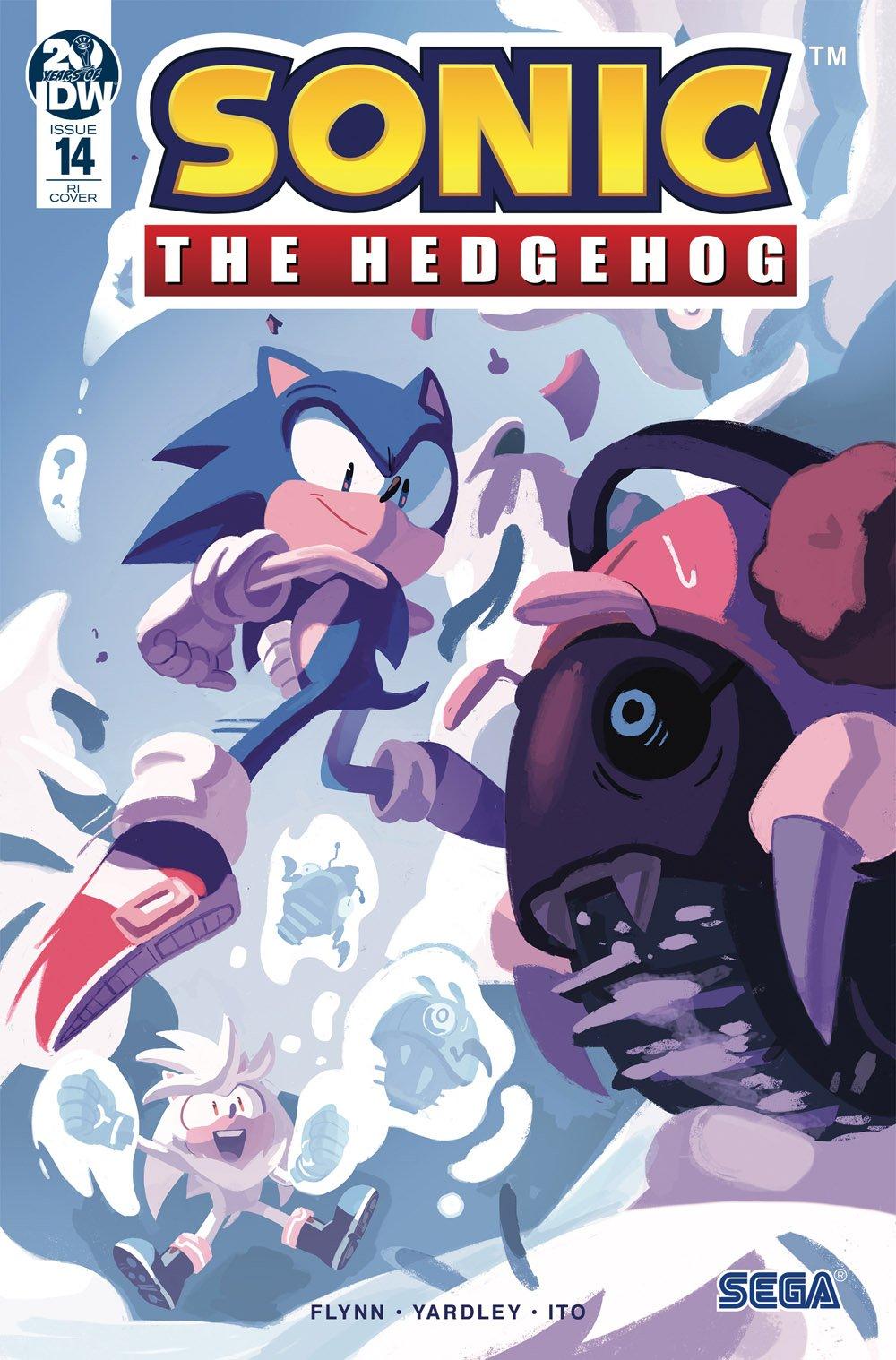 Sonic the Hedgehog 014 (February 2019) (retailer incentive)