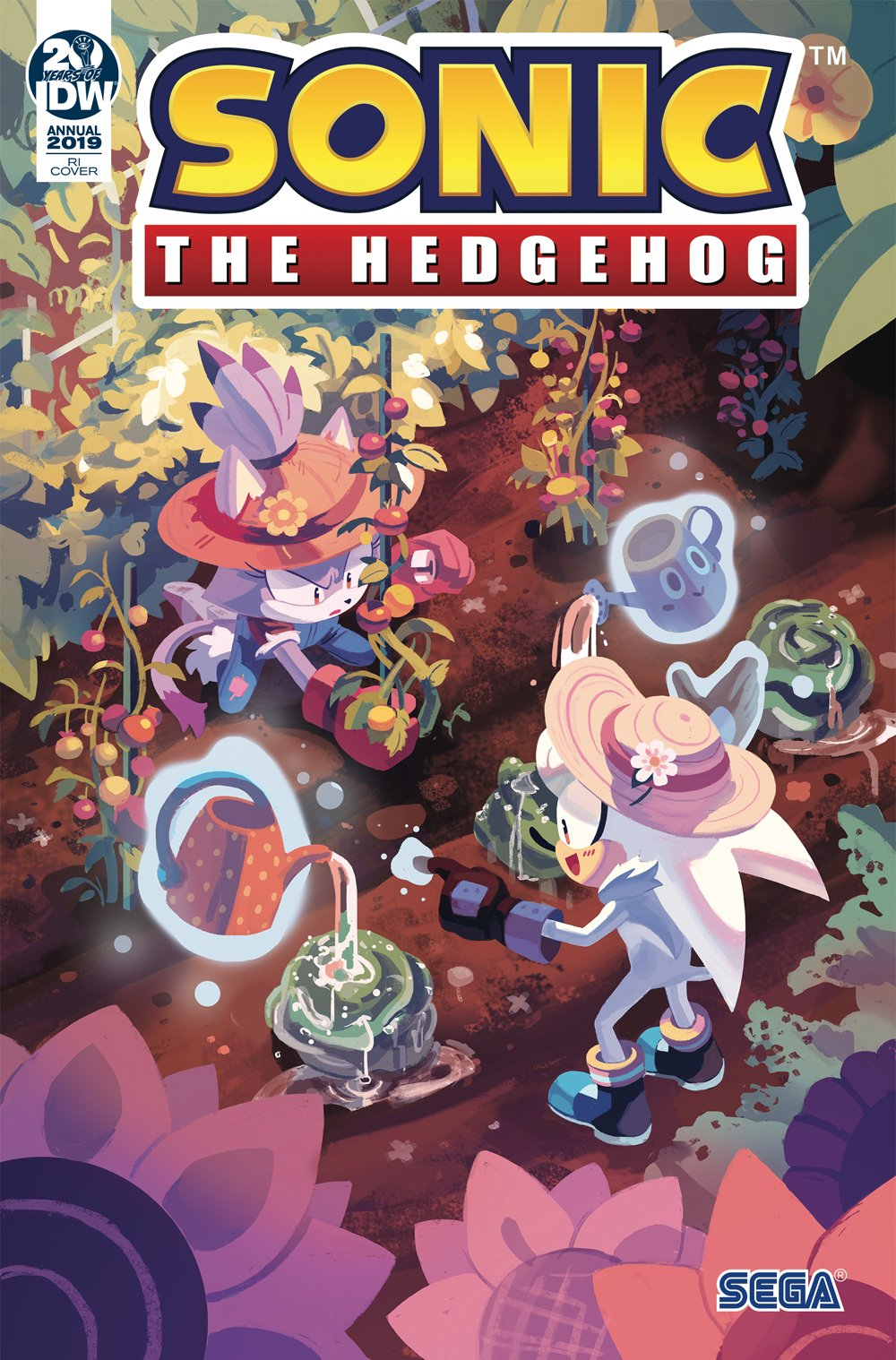 Sonic the Hedgehog Annual 2019 (March 2019) (retailer incentive)