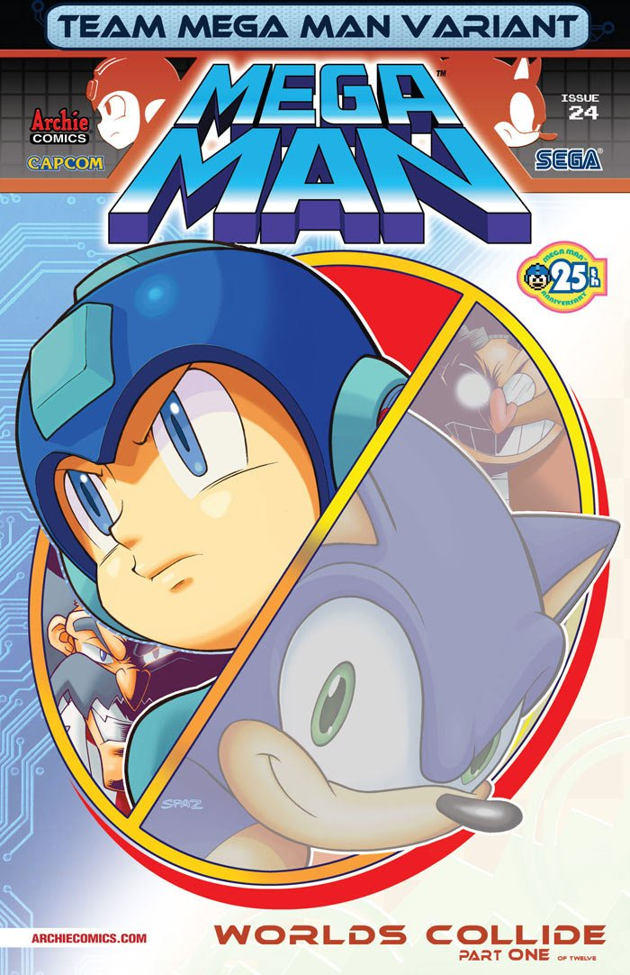 Mega Man 024 (June 2013) (variant 1)