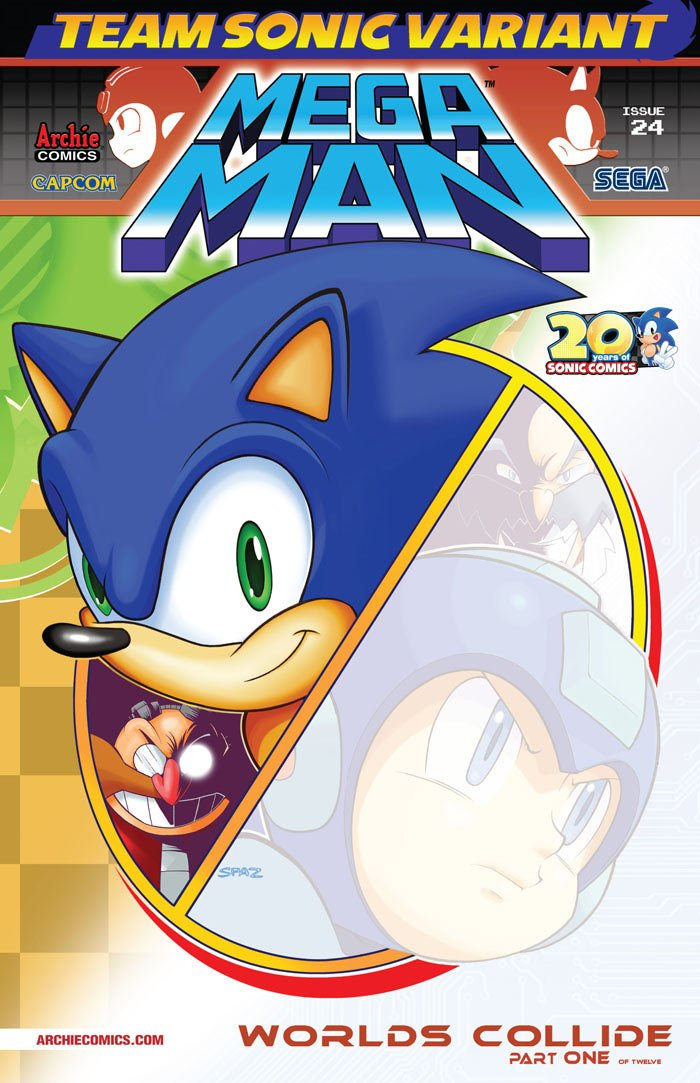 Mega Man 024 (June 2013) (variant 2)
