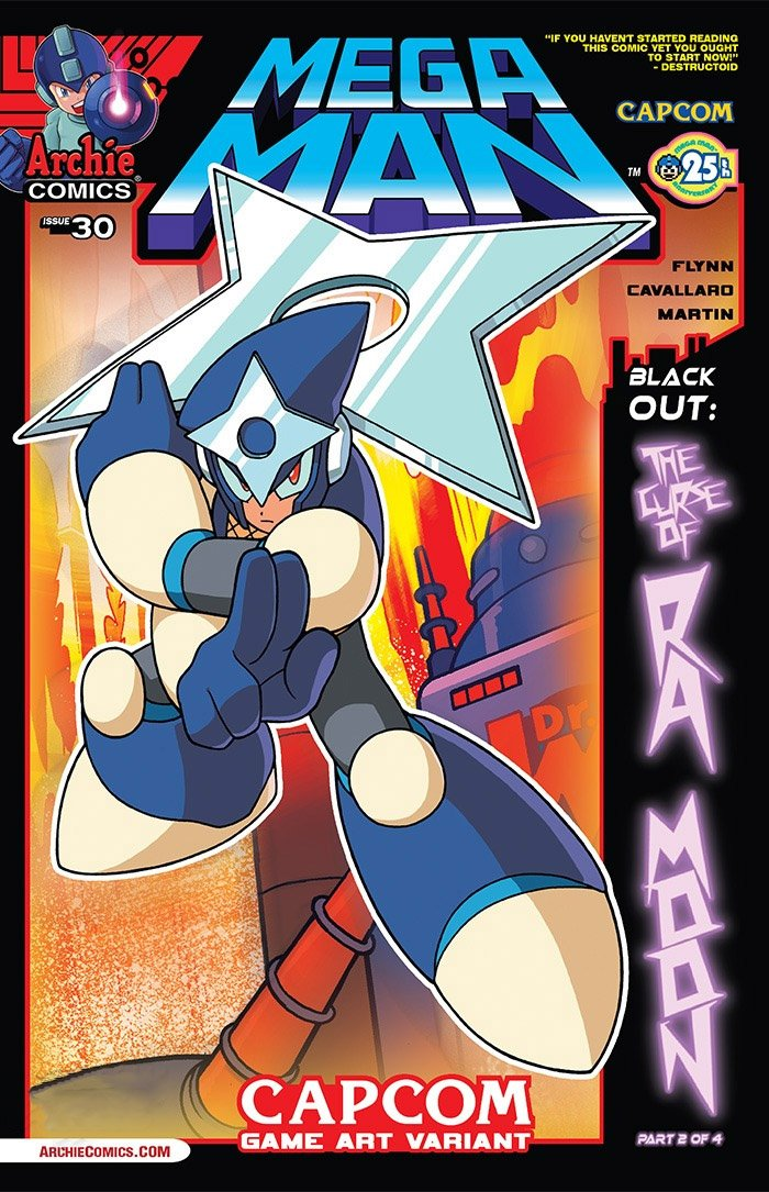 Mega Man 030 (December 2013) (variant)