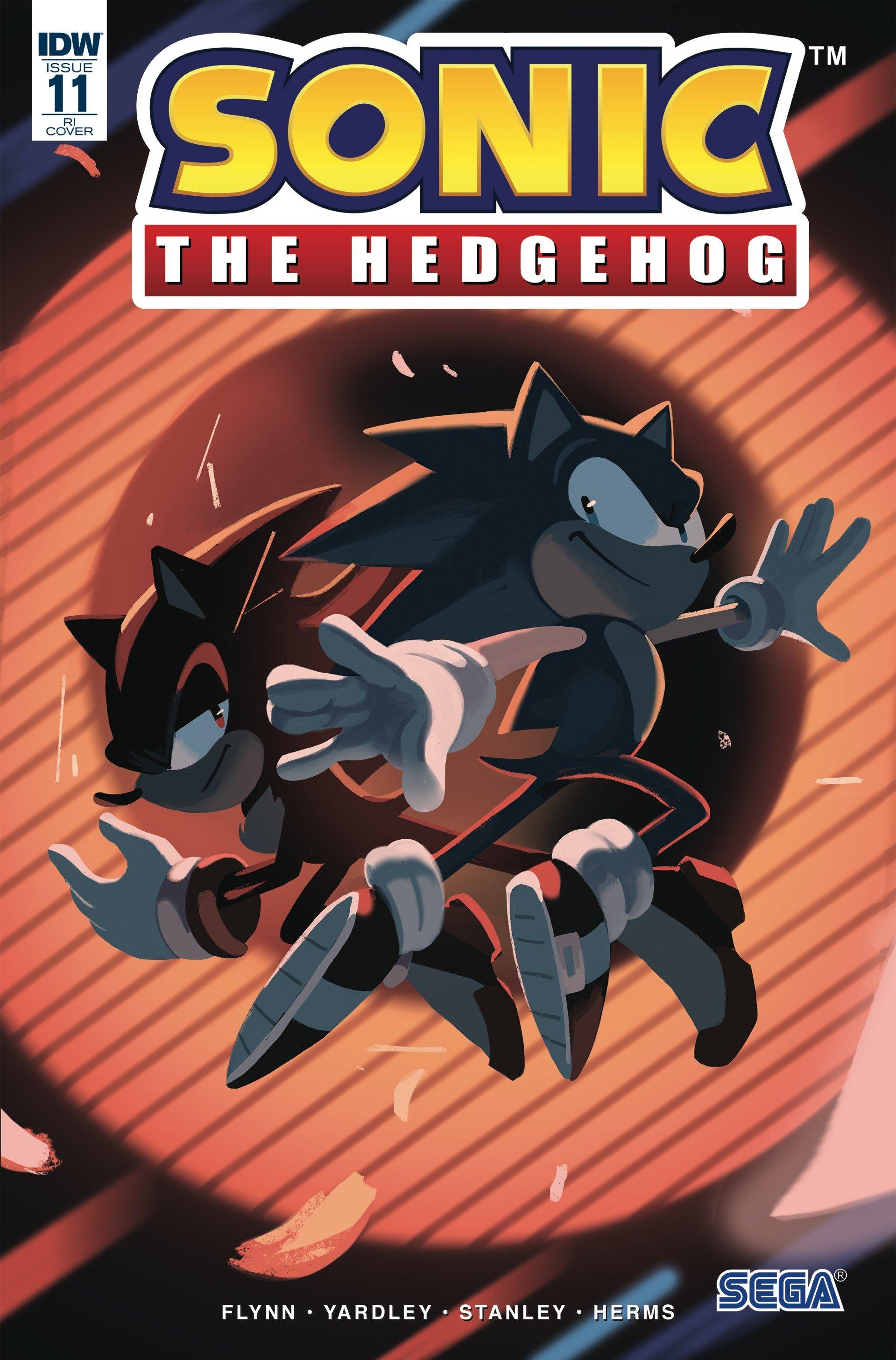 Sonic the Hedgehog 011 (November 2018) (retailer incentive)