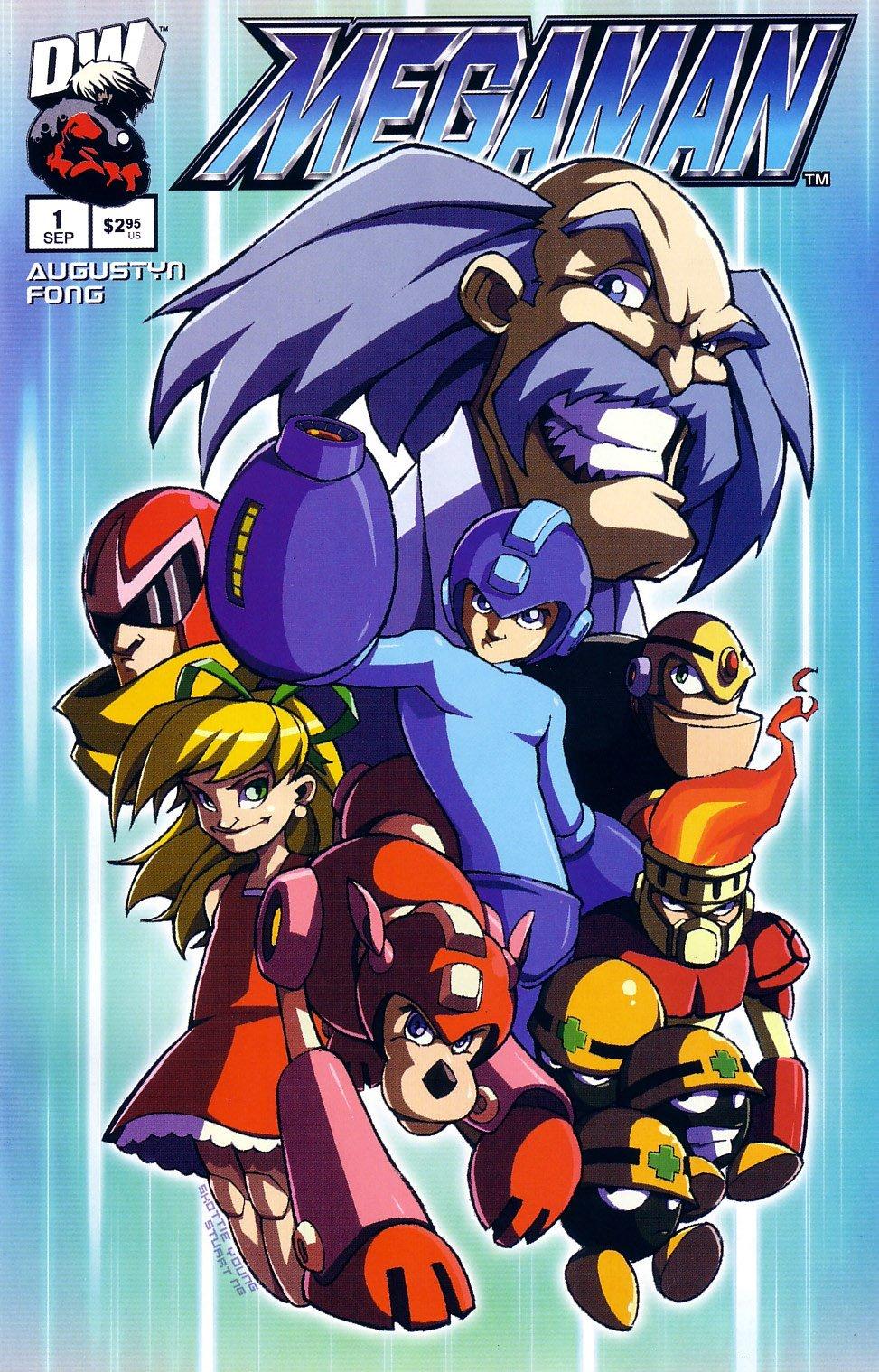 Mega Man 01 (September 2003) (variant 2)