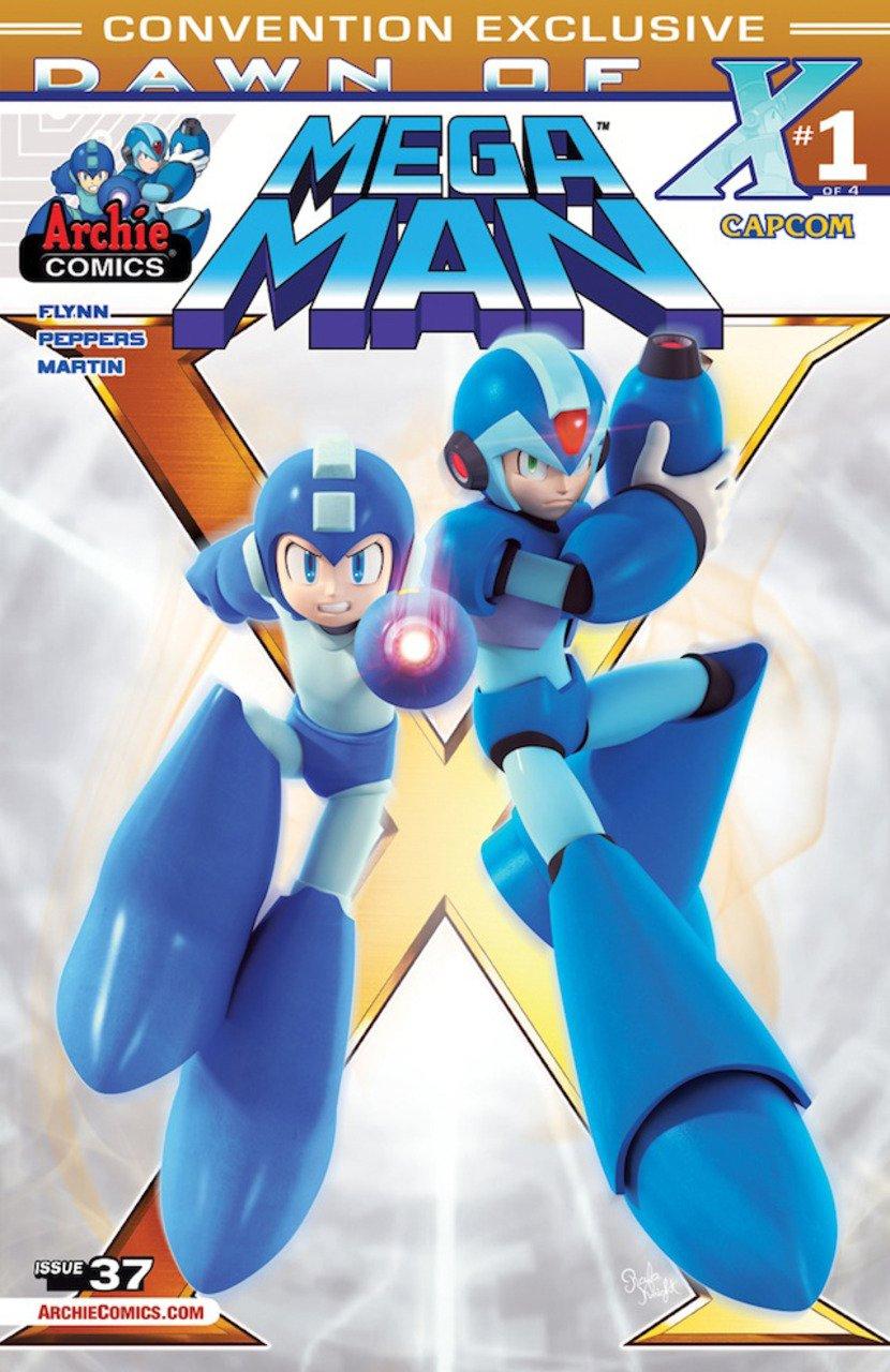 Mega Man 037 (July 2014) (variant 3)