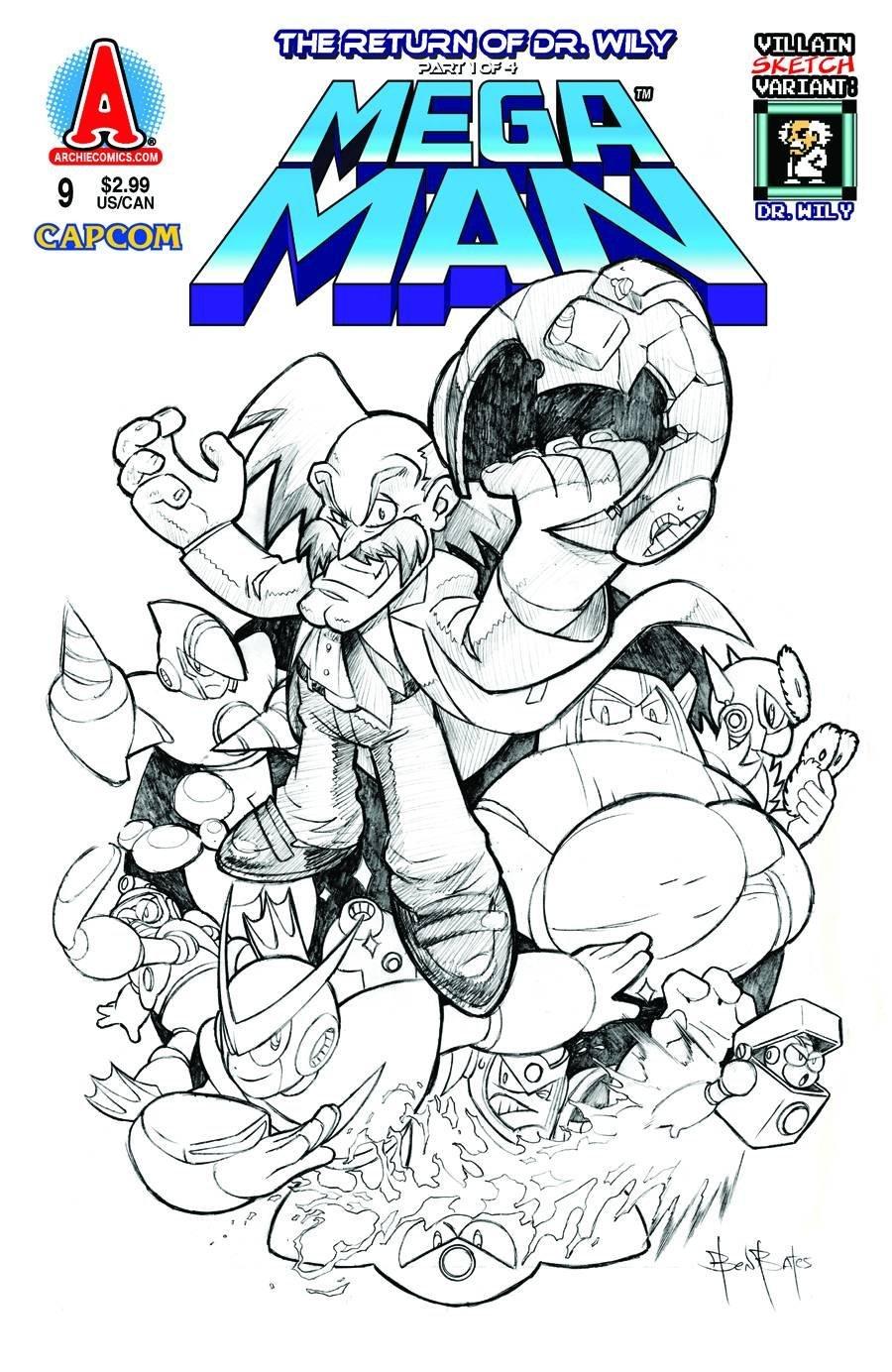 Mega Man 009 (March 2012) (variant)