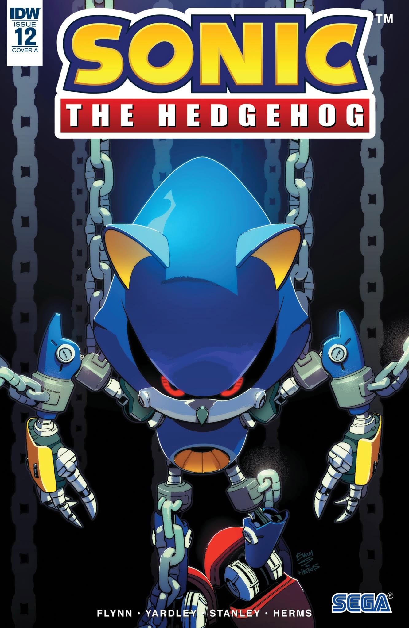 Sonic the Hedgehog 012 (December 2018) (cover a)