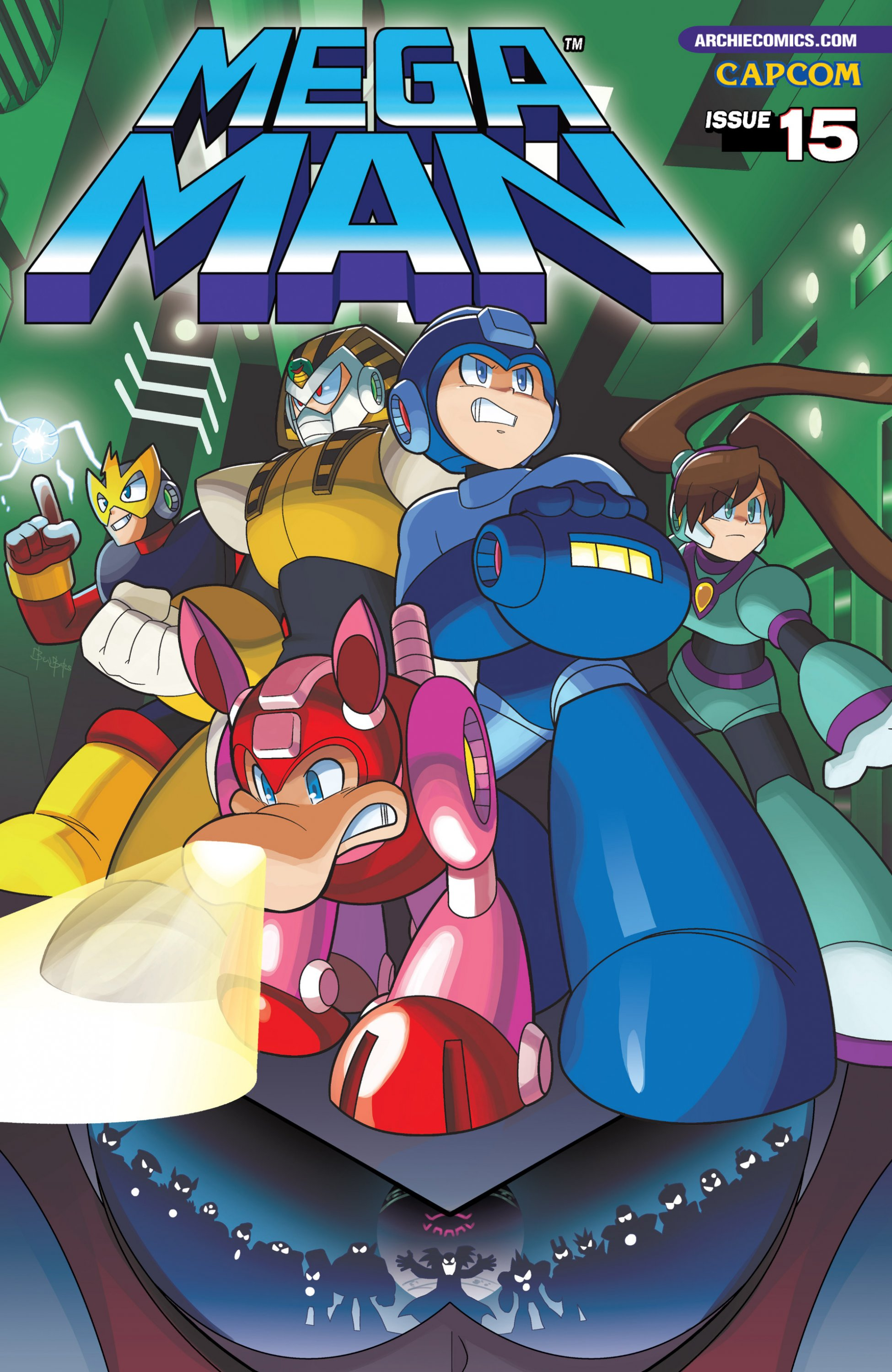 Mega Man 015 (September 2012)